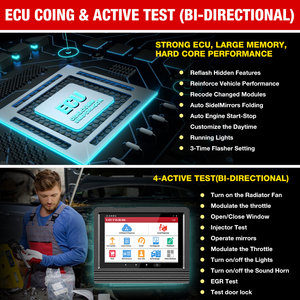 Image 5 - LAUNCH X431 V PRO 4.0 Full System Auto Scanner Automotive OBD2 Diagnostic Tool ECU Coding 30+ Reset Service 10000+ Car models