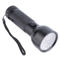 Aluminium 51 LED UV Flashlight Torch Ultra Violet Outdoor Light Torch Lamp For Outdoor Fishing Hiking Camping