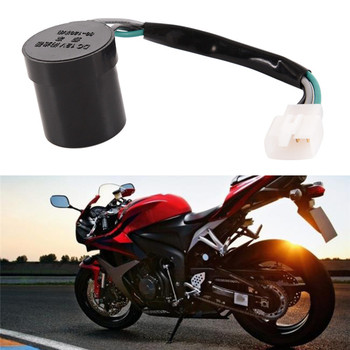 1pc Blinker Turn Signal Flasher/Relay Round 12V 3Wire Scooter 50cc 125cc 150cc 250cc Accessories image