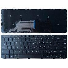 Nuovo US Tastiera Del Computer Portatile Per HP Probook 430 G3 430 G4 440 G3 440 G4 445 G3 640 G2 645 g2 English Tastiera nera con telaio