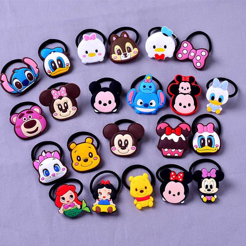 1Pcs เจ้าหญิง Ariel Minnie Mickey น่ารักเด็ก Hairpins คลิปผม Headwear เด็กทารกเด็กอุปกรณ์เสริมวันเกิดของขวัญ