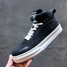 Brand Fashion Mens High Top Shoes Casual