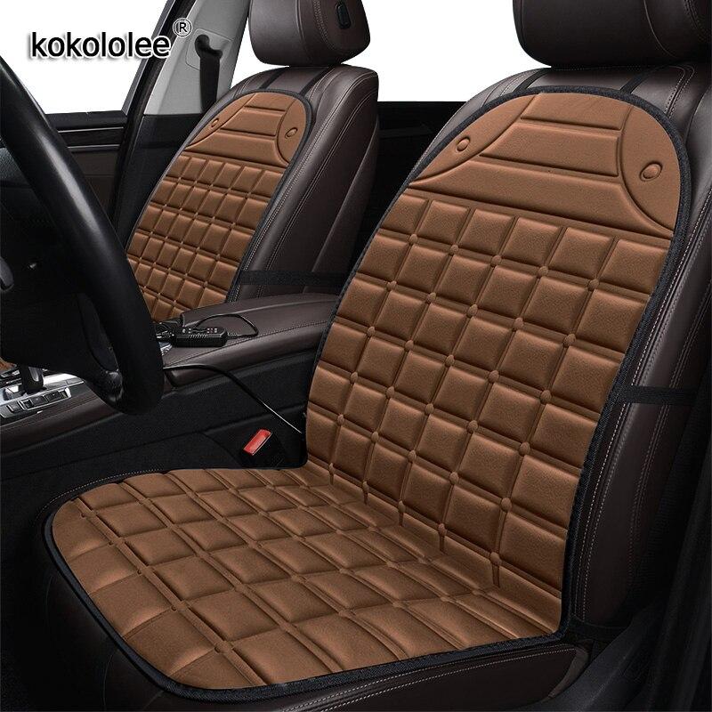 Чехол для автомобильного сиденья с подогревом kokolelee 12V для Volkswagen все модели VW touareg touran вариант tiguan polo EOS UP! Гольф Jetta passat