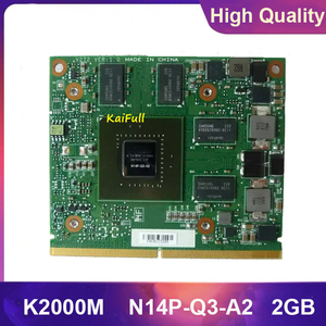 Original N14P-Q3-A2 2G CN-0D30WG 0D30WG K2000M K 2000M Graphic Card for Dell Precision M4700 M4800 HP Elitebook 8560W Fully Test