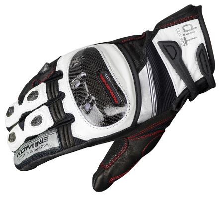 Komine GK-193 racing leather glove driving motorcycles gloves