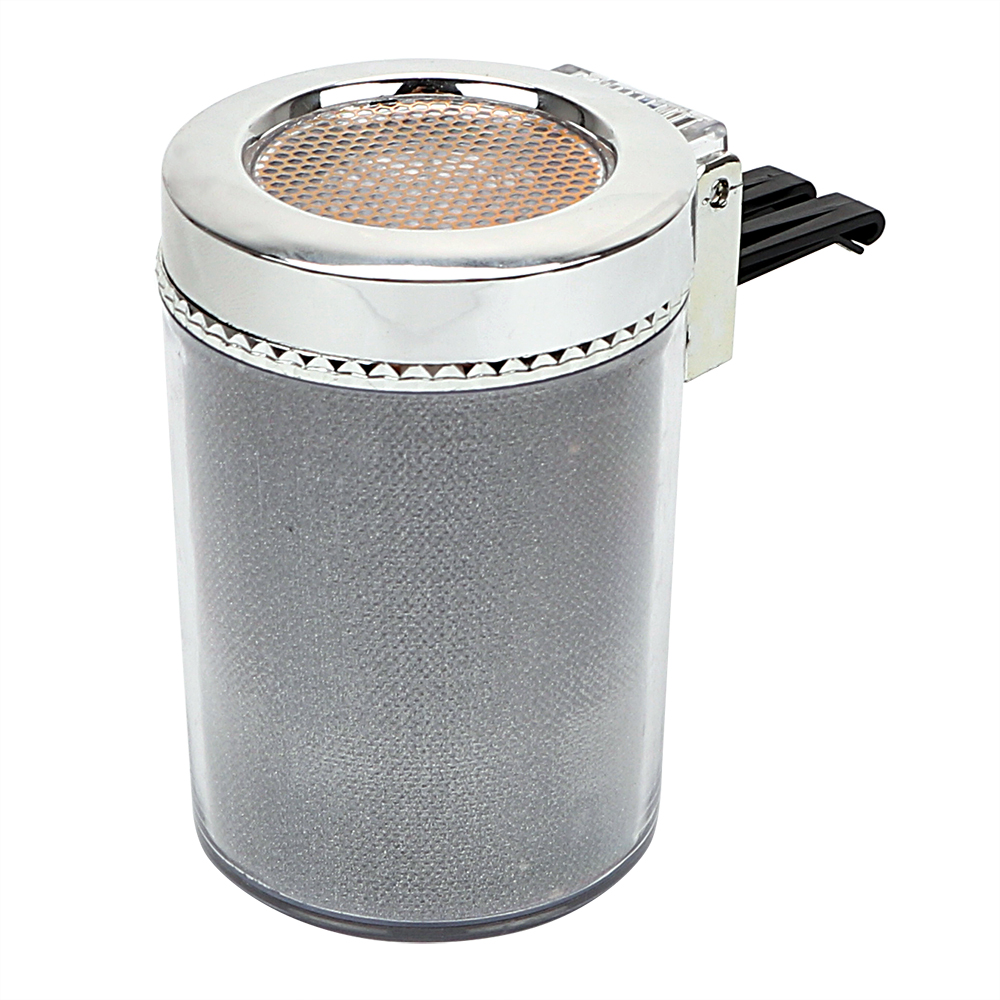 Garbage Container Smoke Ash Cylinder Car Accessories LED Car Ashtray Car Styling Cigar Ash Tray Storage Cup Portable
