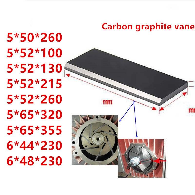Vacuum Pump Carbon Vanes Graphite Vane,graphite Blade