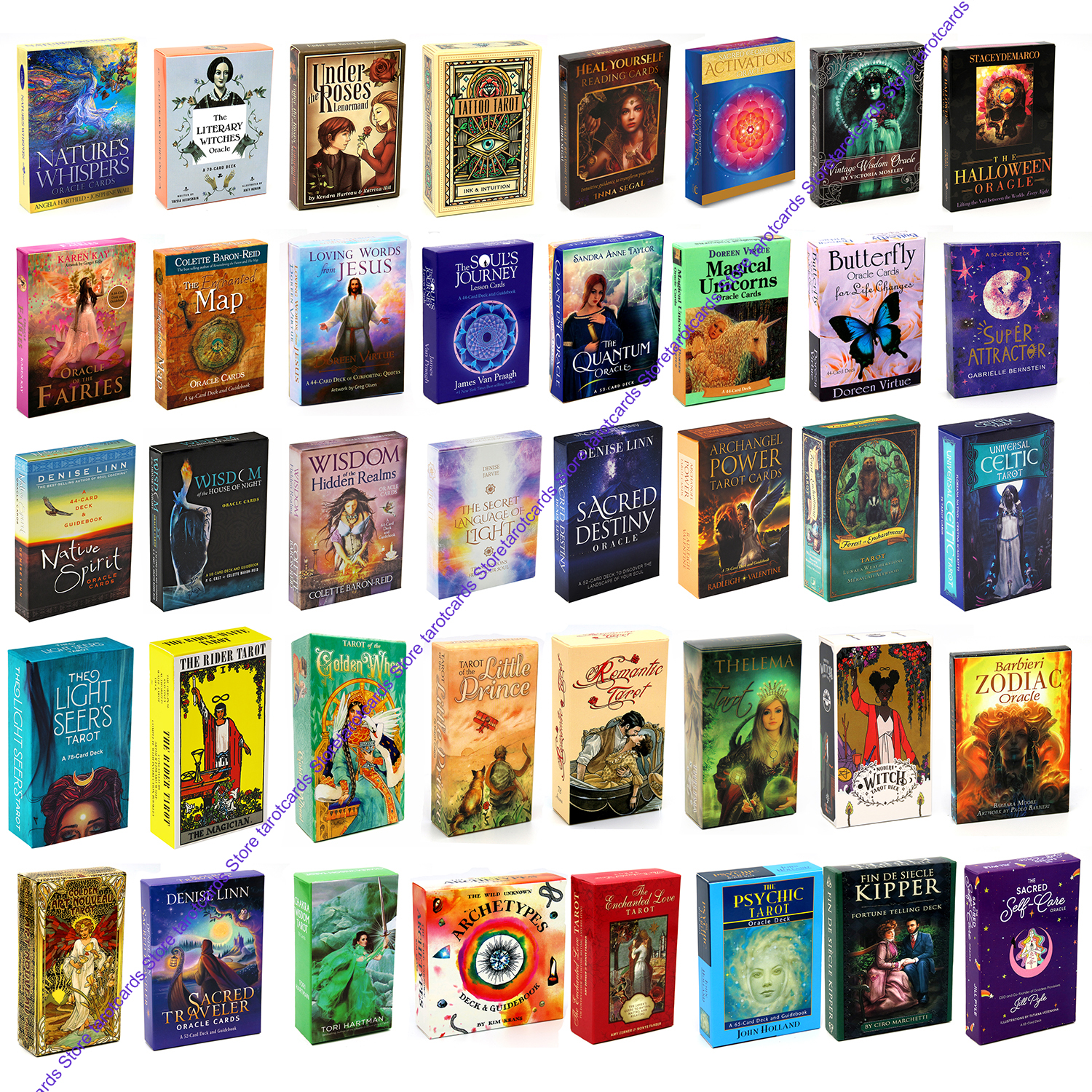 140 Types Of Tarot Light Seer's Native Spirit Wisdom Of The House Of Night Oracle The Secret Language Light Sacred Destiny Deck
