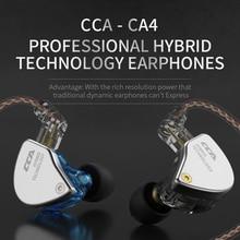 CCA auriculares de sonido HIFI Aurora, auriculares personalizados, tecnología híbrida, Auriculares deportivos entusiastas con micrófono