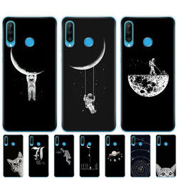 На Алиэкспресс купить чехол для смартфона silicon case for honor 20 lite view 30 v 30 pro cover for huawei honor 20s 9a 9c 9s 9x premium 7s 8a space moon cats black