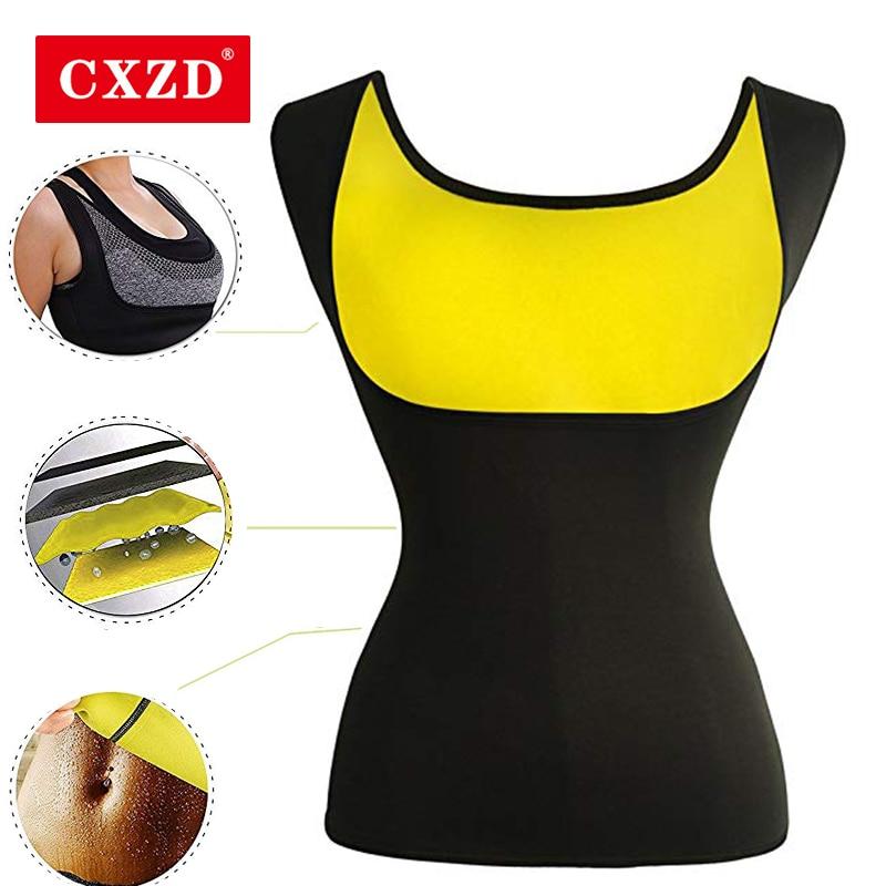 Hot Womens Slimming Vest Body Shaper Shirt Weight Loss Neoprene Sweat Fat Burner