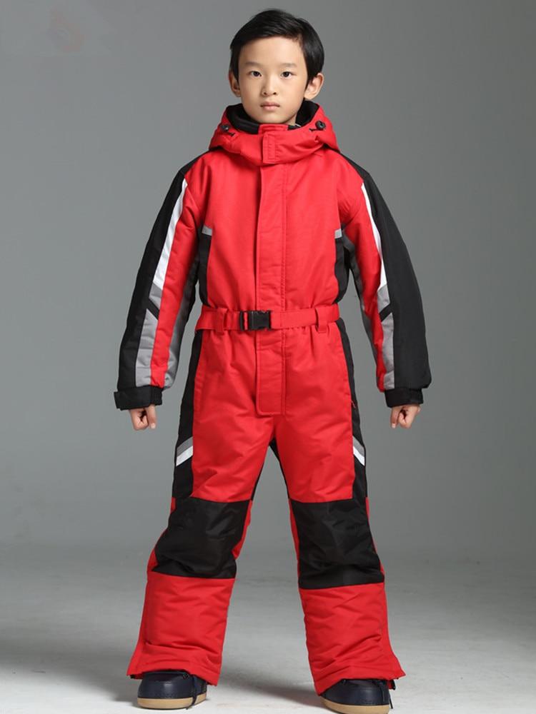 Winter Ski Suit Kids Snowboard Jacket Snow Suit Girls Sport Suit Waterproof Snowboard Jumpsuit Ski Jumpsuit Ski Suit Kids Skiing