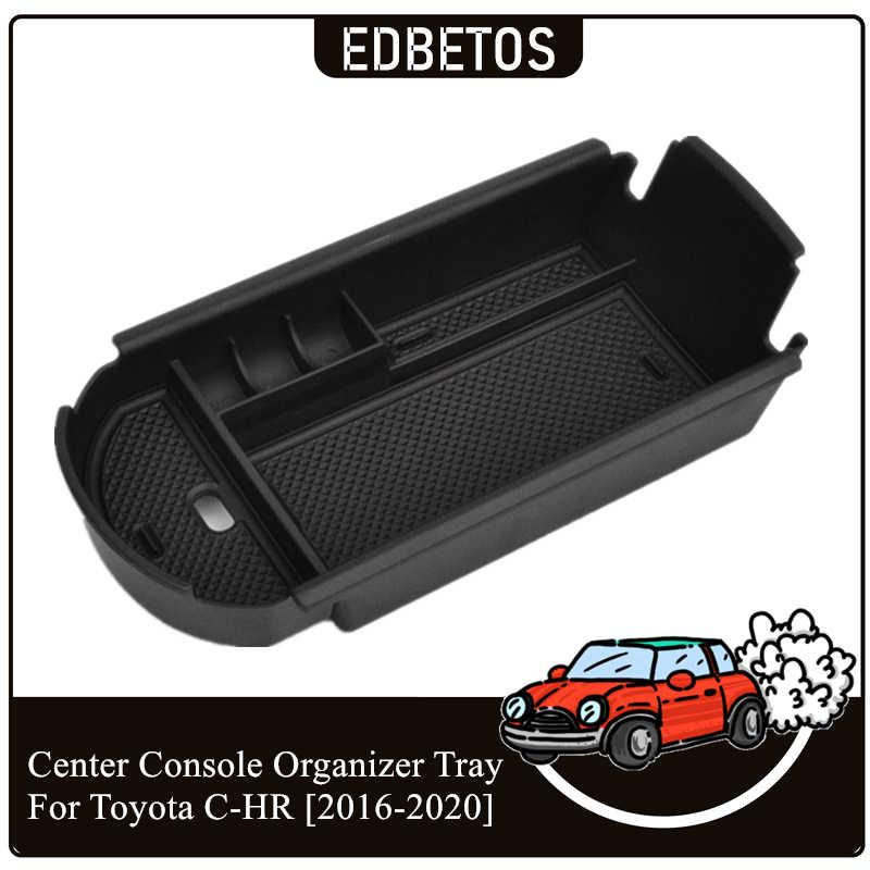 Car Armrest Box Storage Center Console Organizer for Toyota C-HR CHR 2016-2017