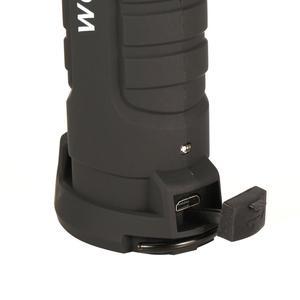 Mini stylo multifonction COB LED travail lumière Inspection réparation torche lampe de poche avec pince de Base magnétique pour atelier de vélo