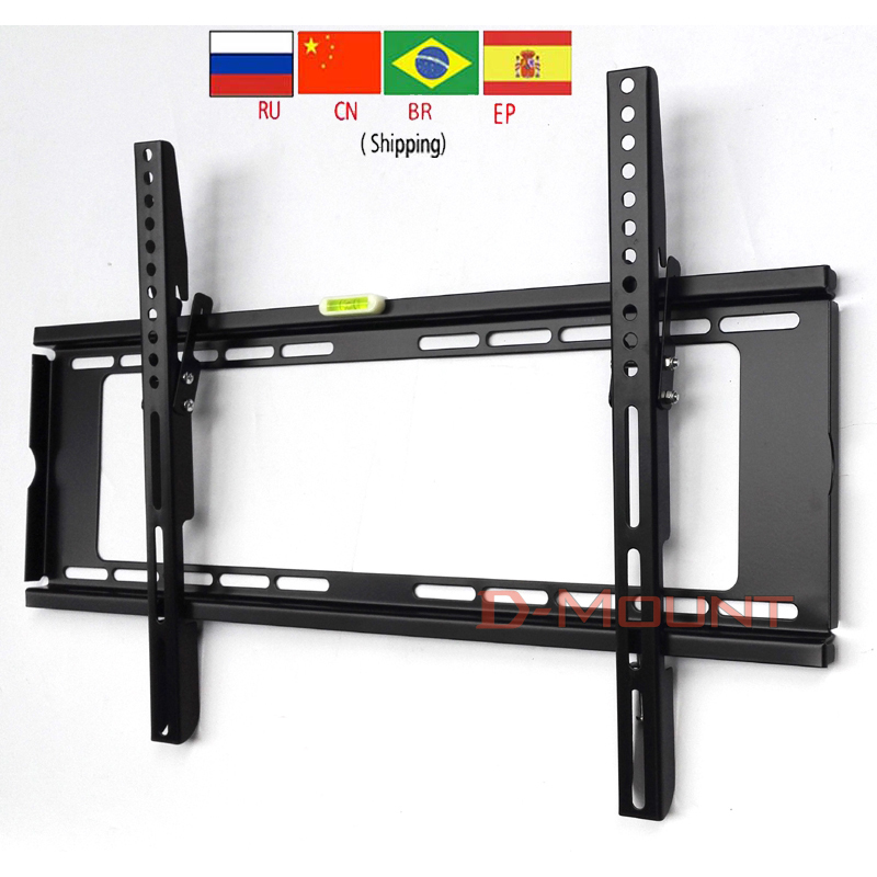 "PTB-6064HT 30""55""65""60"" Big metal 50kg vesa 600x400 Panel LCD Wall Mounted tv lift mechanism bracket tilt down 15"