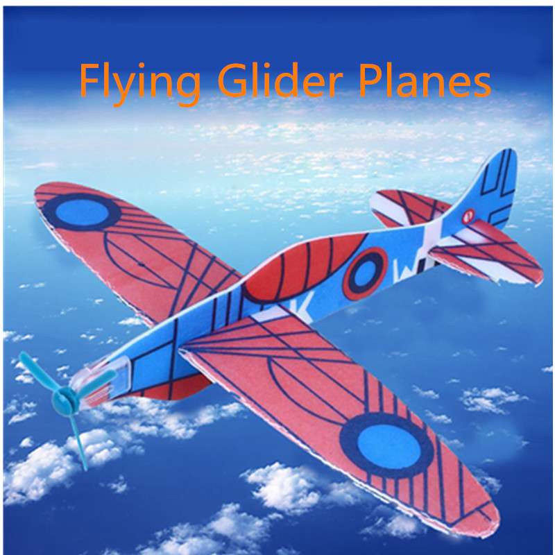 Toy $ Games Bags Glider Party Aeroplane Gliders Kids Gifts Toy Flying Plane Planes