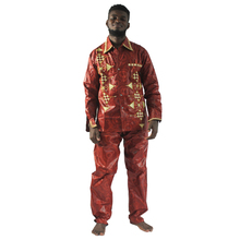 MD south african traditional wear high quality bazin riche clothes for men shirt with pants suit embroidery african style tops