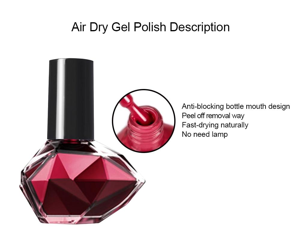 Gelike 10ml New Arrival Peel Off Gel Nail Art Gel Nail Polish Multi Use Primer Gel Varnish Tear to Remove in Nail Polish from Beauty Health