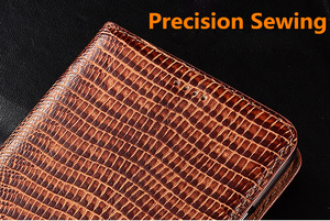 Image 5 - High end lizard pattern natural leather case card slot holder for Huawei P10 Plus/Huawei P10/Huawei P10 Lite magnetic phone case