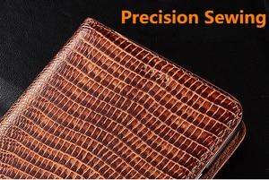 Image 5 - גבוהה סוף לטאה דפוס טבעי עור מקרה כרטיס חריץ מחזיק עבור Huawei P10 בתוספת/Huawei P10/Huawei p10 לייט מגנטי טלפון מקרה