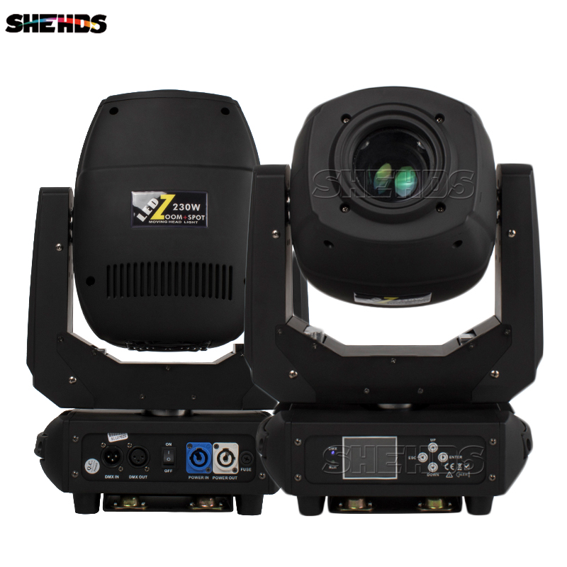 SHEHDS 230W LED Spot Moving Head Lights DMX Control With Gobo High Shine Disco Dj Bar Ball Stage Party Light
