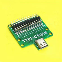 2pcs USB3.1 Type-C female test board with pin header test stand PCB board fixture(China)