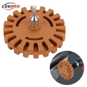 Image 1 - LEEPEE רכב גומי מחק גלגל מדבקות מדבקות מסיר ליטוש כלים תיקון צבע לטש ערכת אופנוע אביזרי רכב