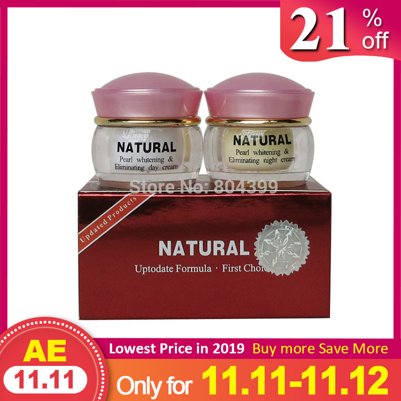 High Quality Pearl Whitening & Anti Aging Anti Wrinkle Face Cream 2bottles In One Box