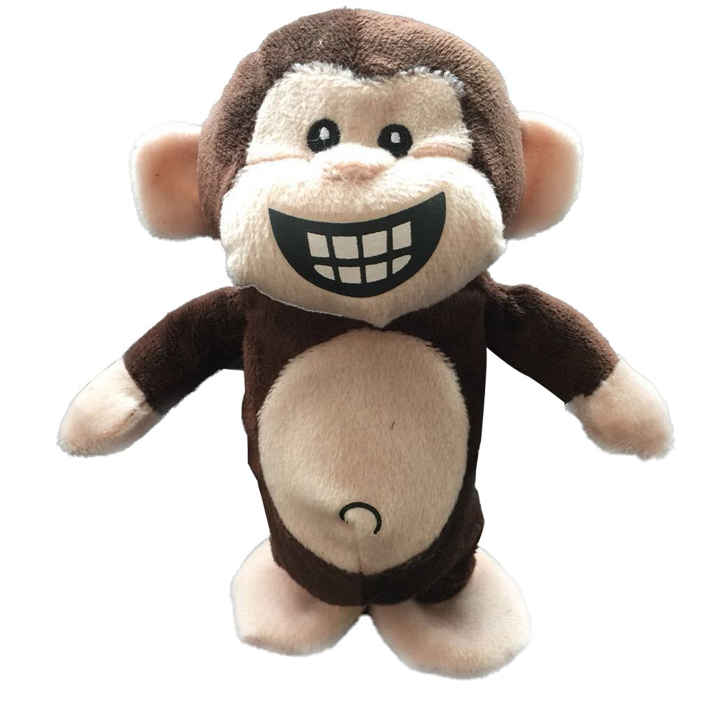 Electronic Pets Interactive Animal Toys Smart Walking Talking Monkey Plush Recording Electric Toys For Kids Baby Birthday Gifts