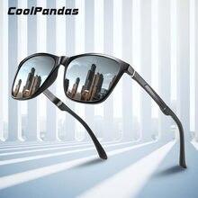 2020 поляризованные мужские солнцезащитные очки алюминиевые