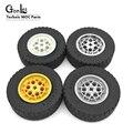 4 Teile/los Hohe-Tech EV3 Räder 62,4 x20mm Rad Reifen Teile Baustein Spielzeug Für Auto Kompatibel mit 32019 + 86652 MOC Ziegel Teile