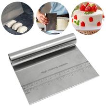 Stainless Steel Scraper Dough Cutter Bread Cake Cream Spatula Baking Accessories Pastry Cake-Decorating-Tool