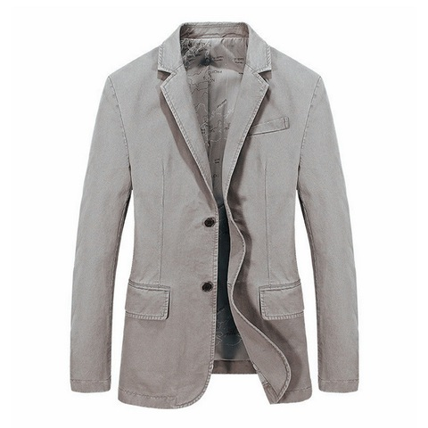 2019 New Men Blazer Suits For Men Tops High Quality Blazers Slim Fit Formal Party Work Outwear Coat Costume Masculino Plus Size Lahore