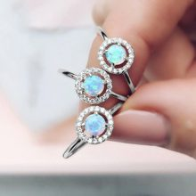 925 Sterling Silver Rings for Women Zircon Diamond Wedding Engagement Rings Saphire Gemstone Moonstone Rings Fine Jewelry Gifts(China)