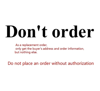 Do not place an order without authorization image
