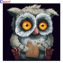Animals 5D Diy Diamond Mosaic Diamond Owl 3D Painting Drawing Full Square Round Drill Diamond Embroidery Cross Stitch Home Decor diapai 100% full square round drill 5d diy diamond painting flower landscape diamond embroidery cross stitch 3d decor a21095