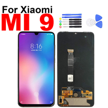 For Xiaomi Mi 9 Display Touch Screen Digitizer LCD Assembly for Xiaomi Mi 9 Mi9 Screen with Frame Repair Replacement for google nexus 9 replacement lcd display touch screen digitizer glass with frame assembly 8 9 inch black for tablet