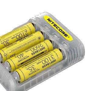 Image 5 - NITECORE Q4 4 Bay 2A için hızlı şarj Li ion IMR 16340 10440 AAA 14500 18650 26650 elektronik sigara pil şarj cihazı