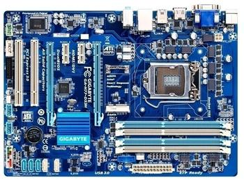 Gigabyte GA-H77-DS3H Original Motherboard  LGA 1155 DDR3 32GB USB3.0 H77-DS3H H77 Board