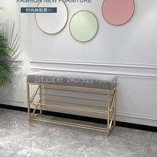 Shoe-Rack Entrance Changing-Stool Narrow Small-Size Simple Luxury Ultra-Thin Household