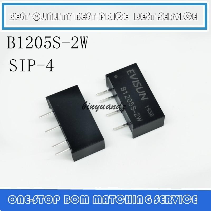 2PCS/LOT B1205S B1205S-2W New Original DC-DC Power Module 12V-5V Isolated Buck
