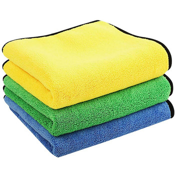 4 #3pc pielęgnacja samochodu ściereczka do polerowania jakość profesjonalne zastosowanie do samochodu 60X30 Cm myjnia samochodowa ręcznik z mikrofibry czyszczenie samochodu tanie i dobre opinie CN (pochodzenie) Ekologiczne