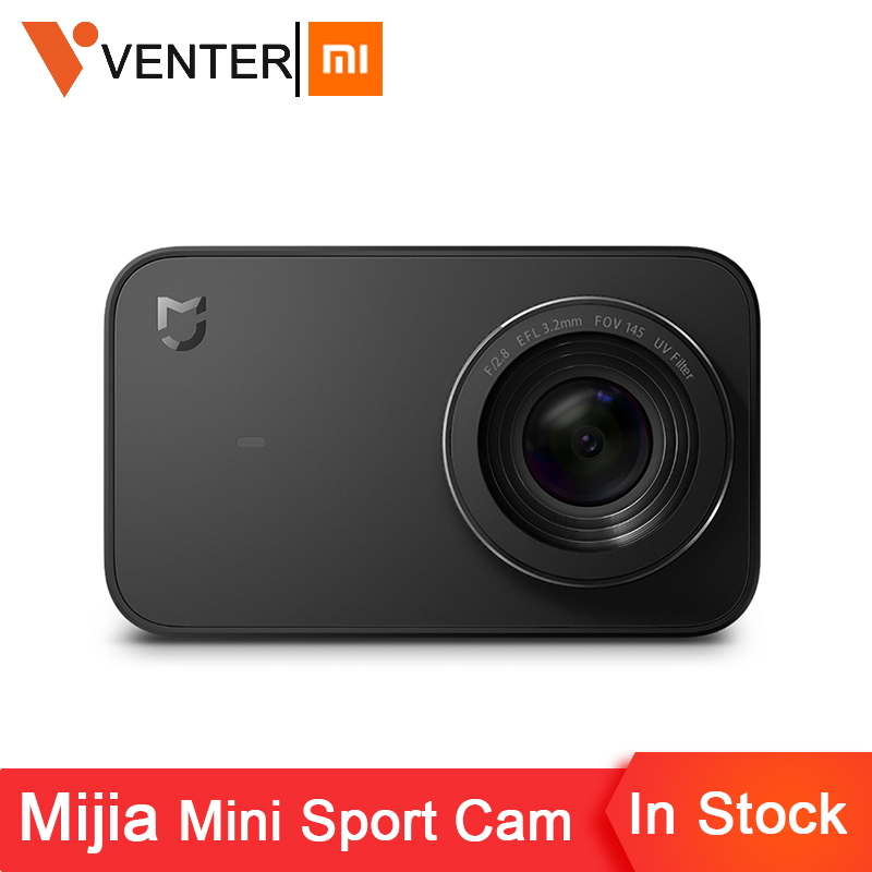 In Stock Global Version Xiaomi Mijia Mini Sport Action Camera 4K Ambarella A12S Ramcorder Video Record IMX317 Digital Cameras