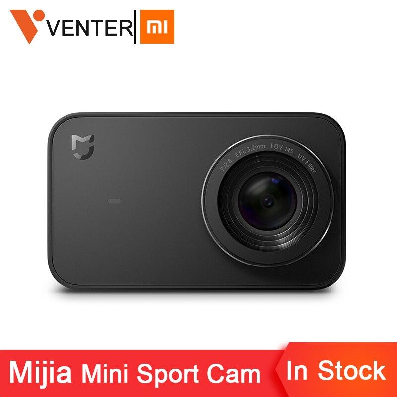 In Lager Globale Version Xiaomi Mijia Mini Sport Action Kamera 4 K Ambarella A12S Ramcorder Video Rekord IMX317 Digital Kameras