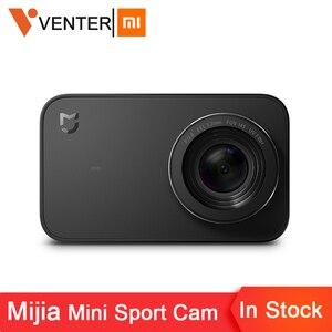 Image 1 - In Voorraad Global Versie Xiaomi Mijia Mini Sport Actie Camera 4 K Ambarella A12S Ramcorder Video Record IMX317 Digitale Camera S