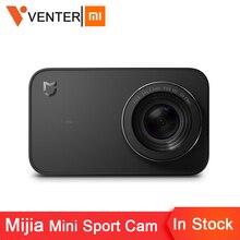 في المخزون العالمي النسخة Xiaomi Mijia البسيطة الرياضة عمل كاميرا 4 K Ambarella A12S Ramcorder فيديو سجل IMX317 كاميرات رقمية