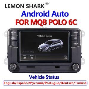 Image 1 - 안드로이드 자동 NONAME Carplay Mirrorlink MIB 자동차 라디오 새로운 RCD330 RCD360 187B 280D 280E VW MQB POLO 6C 전용 차량 상태