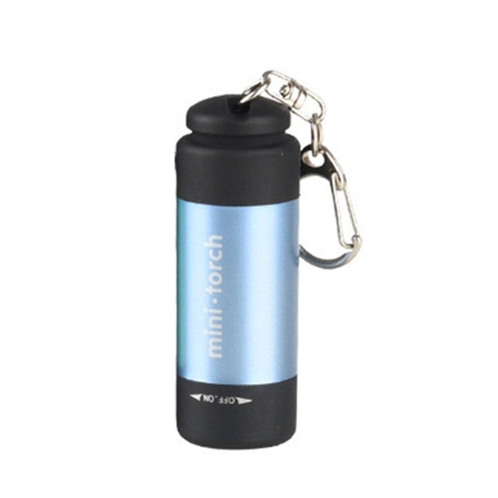 Pocket Waterproof USB Mini Flashlights Handheld LED Flashlight Super Bright Pocket Work Light For Emergency Camping