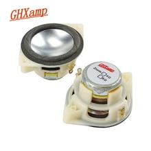 GHXAMP 1.5 inç 4ohm 5W tam aralıklı hoparlör uzun strok magnezyum alüminyum koni neodimyum masaüstü Bluetooth MINI hoparlör Diy 2 adet