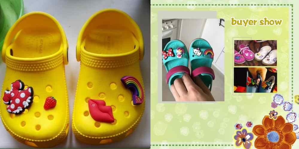 1PCS Sesame Street HP นิยายวิทยาศาสตร์ PVC รองเท้า Charms อุปกรณ์เสริมสำหรับรองเท้าสร้อยข้อมือแถบ Croc JIBZ รองเท้าหัวเข็มขัด ormaments